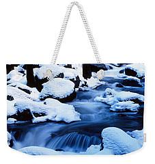 Winter Yosemite National Park Ca Weekender Tote Bag by Panoramic Images