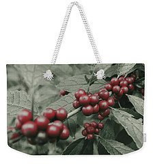 Winterberry Weekender Tote Bag