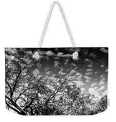 Winterfold - Monochrome Weekender Tote Bag