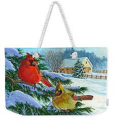 Winterlude Weekender Tote Bag