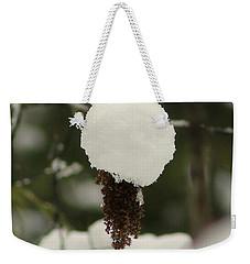 Winter's Cap Weekender Tote Bag by Leone Lund