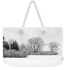 Winter's Cloak Weekender Tote Bag