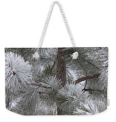 Winter's Gift Weekender Tote Bag