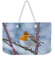 Winters Here Weekender Tote Bag