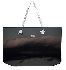 Winter's Moon Weekender Tote Bag