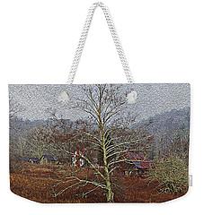 Winter's Sentinel V2 Weekender Tote Bag