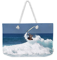 Wipe Out Weekender Tote Bag