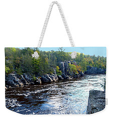 Wisconsin Shores 1 Weekender Tote Bag