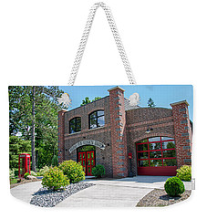 Weekender Tote Bag featuring the photograph Wisconsin State Firefighters Memorial 6 by Susan  McMenamin