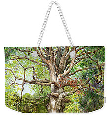 Wisdom Weekender Tote Bag by Nancy Cupp