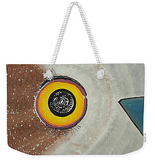 Wise Owl Original Painting Weekender Tote Bag
