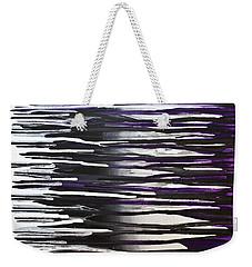 Weekender Tote Bag featuring the painting Wish You Were Here by Joel Loftus
