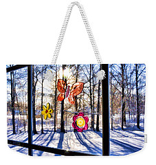 Weekender Tote Bag featuring the photograph Wishing For Spring 1 by Mark Madere