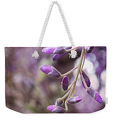 Wisteria Beginnings Weekender Tote Bag