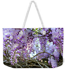 Wisteria Dream Weekender Tote Bag by Cathy Dee Janes
