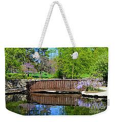 Wisteria In Bloom At Loose Park Bridge Weekender Tote Bag