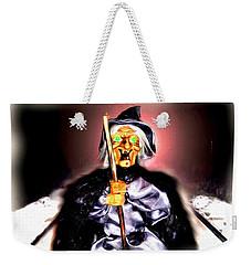 Weekender Tote Bag featuring the digital art Witch by Daniel Janda