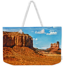 Weekender Tote Bag featuring the photograph Witnesses Of Time by Hanny Heim