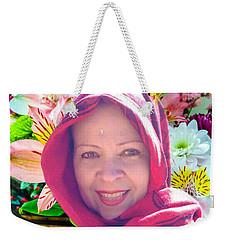 Woman Weekender Tote Bag by Carlos Avila