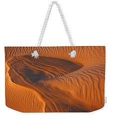 Woman In The Dunes Weekender Tote Bag