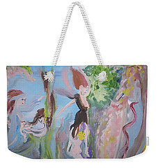 Woman The Nurturer Weekender Tote Bag by Judith Desrosiers