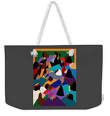 Women Lifting Their Voices Weekender Tote Bag