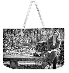 Weekender Tote Bag featuring the photograph Wonder by Howard Salmon