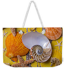 Wonderful Sea Life Weekender Tote Bag by Garry Gay
