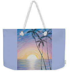 Wonderful Sunrise In Paradise Weekender Tote Bag