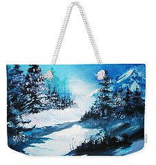 Wonders Of Winter Weekender Tote Bag