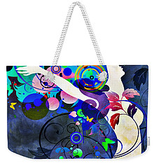 Wondrous Night Weekender Tote Bag by Angelina Vick