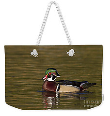 Wood Duck Calling Weekender Tote Bag