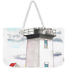 Wood End Lighthouse - Massachusetts Weekender Tote Bag