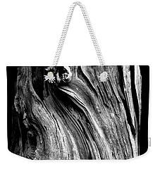 Wood Weekender Tote Bag by Shane Holsclaw