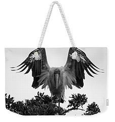 Wood Stork Spread Weekender Tote Bag