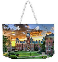 Woodburn Hall Evening Sunset Weekender Tote Bag