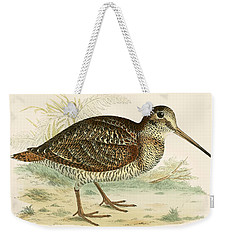Woodcock Weekender Tote Bag by Beverley R Morris