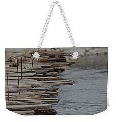 Wooden Bridge  Weekender Tote Bag