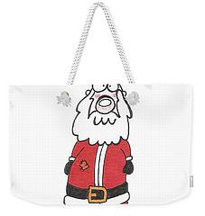 Wooden Leg Santa Weekender Tote Bag