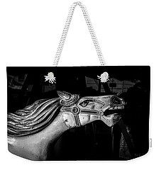 Wooden Pony Weekender Tote Bag by Bob Orsillo