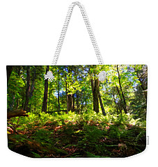 Woodland Weekender Tote Bag by Lars Lentz