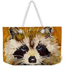 Woodland Racoon Weekender Tote Bag