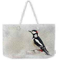 Woodpecker Weekender Tote Bag