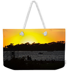 Woods Hole Sunset Weekender Tote Bag