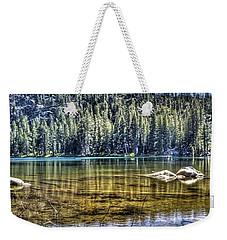 Woods Lake 3 Weekender Tote Bag