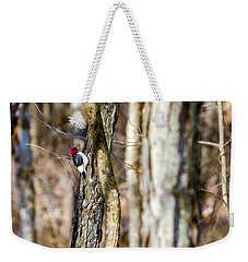 Weekender Tote Bag featuring the photograph Woody by Sennie Pierson