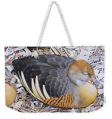 Woody's Duck Weekender Tote Bag