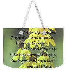 Words For My Teen Weekender Tote Bag