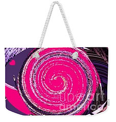 Weekender Tote Bag featuring the digital art Work Of Art by Catherine Lott