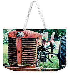 Weekender Tote Bag featuring the photograph Workhorse by Patricia Greer